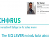 The BIG LEVER nobody talks about: What Sales Reps LITERALLY talk about