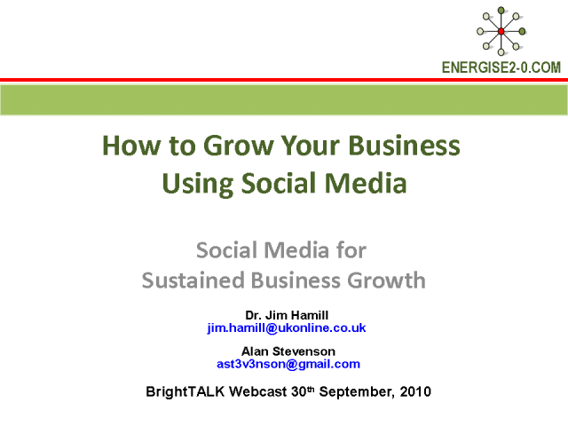 How to Grow Your Business Using Social Media