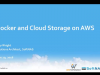 Docker, DevOps and Cloud Storage on AWS