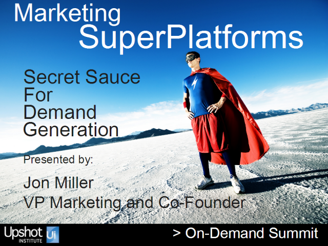 Secret Sauce for Demand Generation