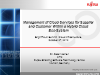 Management of Cloud Services within a Hybrid Cloud Eco-System