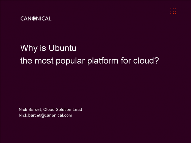 Why Is Ubuntu the Most Popular Platform for Cloud?