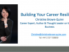 Building Your Career Resilience