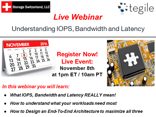 Understanding IOPS, Bandwidth and Latency