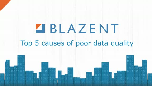 Top 5 causes of poor data quality