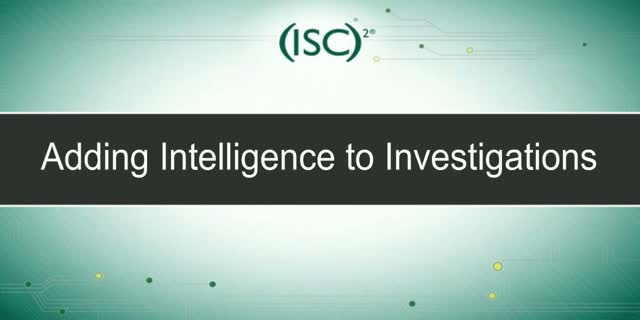 Adding Intelligence to Investigations (Focus on data breach investigations)