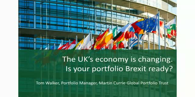 The UK's position in the world is changing.  Is your portfolio Brexit-ready?