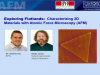 Exploring flatlands: characterizing 2D materials with atomic force microscopy