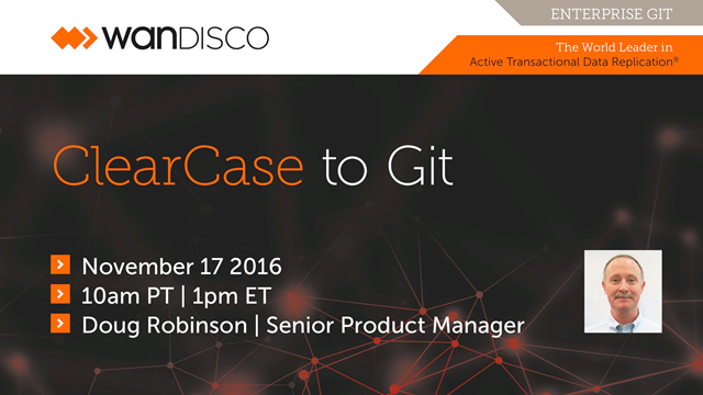 ClearCase to Git