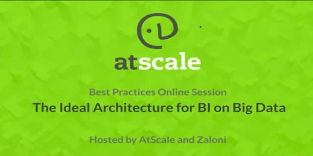 The Ideal Architecture for BI on Big Data