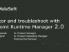 Monitor and Troubleshoot with Anypoint Runtime Manager 2.0