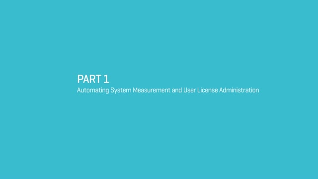 Automating System Measurement in SAP