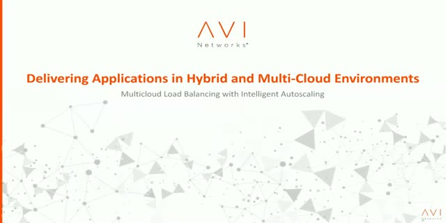 Delivering Applications in Hybrid and Multi-Cloud Environments
