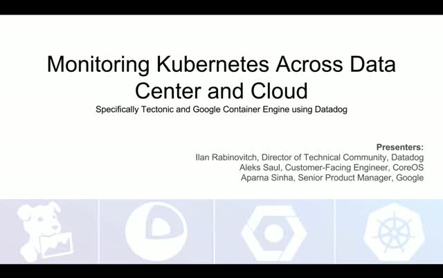 Monitoring Kubernetes Across Data Center and Cloud