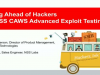 Staying Ahead of Hackers with NSS CAWS Advanced Exploit Testing