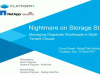 Nightmare on Storage St. - Managing Disparate Workloads in Multi-Tenant Clouds