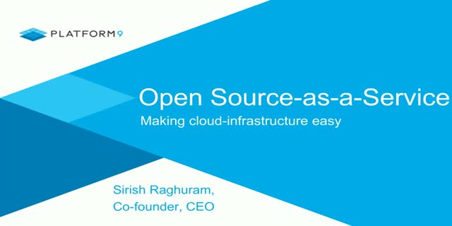 Open-Source-as-a-Service Makes Cloud Infrastructure Easy
