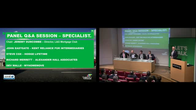 Specialist Lending Panel – Kent Reliance, MyHomeMove, Alexander Hall, Hodge Life