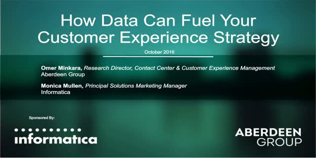 How Data Can Fuel Your Customer Experience Strategy
