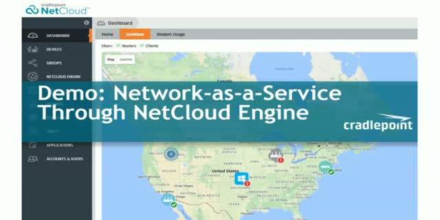 Demo: Network-as-a-Service Through NetCloud Engine