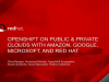 OpenShift on Public & Private Clouds with Amazon, Google, Microsoft, and Red Hat