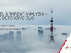 Intel & Threat Analysis – The Defensive Duo