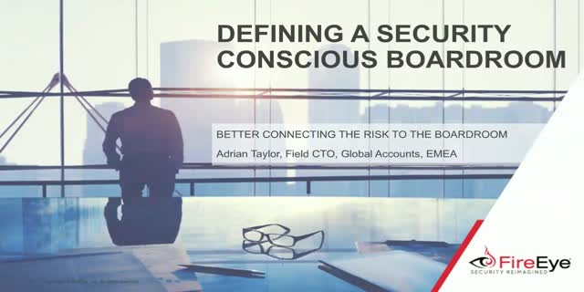 Defining a Security Conscious Boardroom