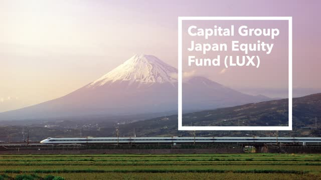Capital Group Japan Equity Fund (LUX)