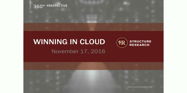 Winning in Cloud - A 360 Degree Perspective
