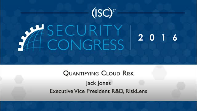 Quantifying Cloud Risk