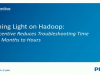 Philips Wellcentive Cuts Hadoop Troubleshooting from Months to Hours