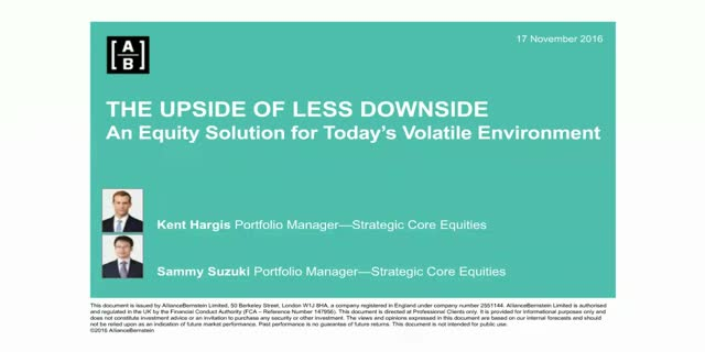 The Upside of Less Downside – How Defense Wins in Equities