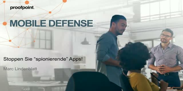 "Proofpoint-Webcast ""Mobile Defense"""