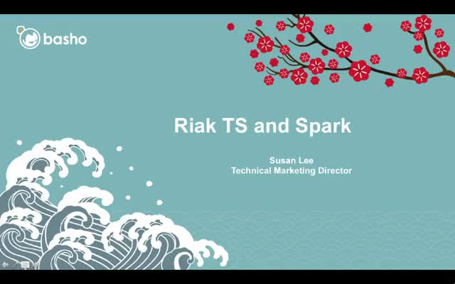 Product Demo: Apache Spark Connector with Riak TS