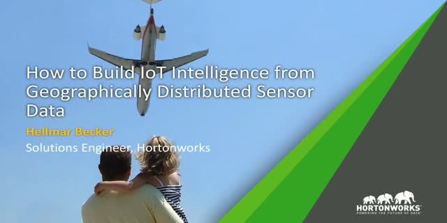 How to Build IoT Intelligence from Geographically Distributed Sensor Data