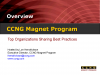 CCNG Magnet Program Orientation