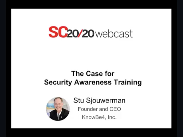 The Case for Security Awareness Training