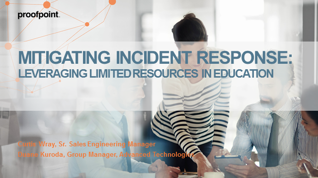Mitigating Incident Response with the Limited Security Resources in Higher Ed
