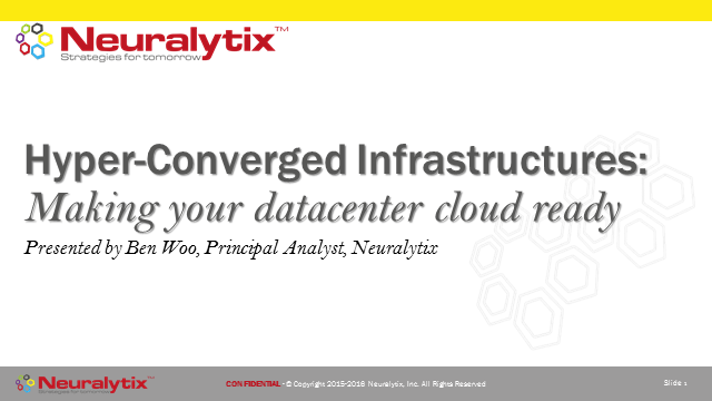 HyperConverged Infrastructure: Making Your Datacenter Cloud Ready
