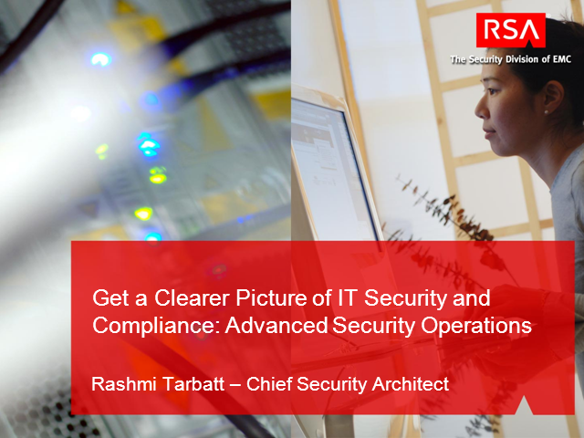 Get a Clearer Picture of IT Security and Compliance