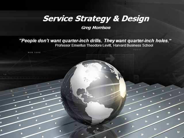 Service Strategy: Shifting the IT Paradigm