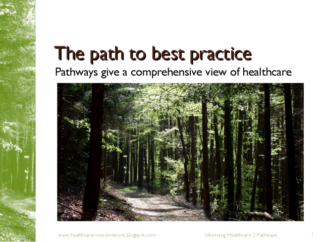 The path to best practice