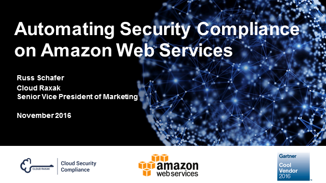 Amazon Web Services Cloud Security