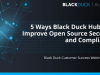 5 Ways Black Duck Hub Can Improve Open Source Security & Compliance