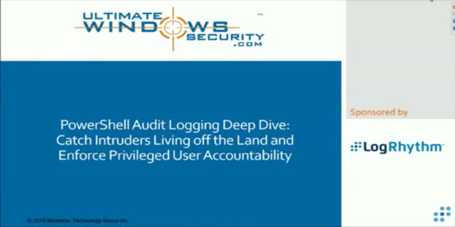 PowerShell Audit Logging: Catch Intruders Living off the Land