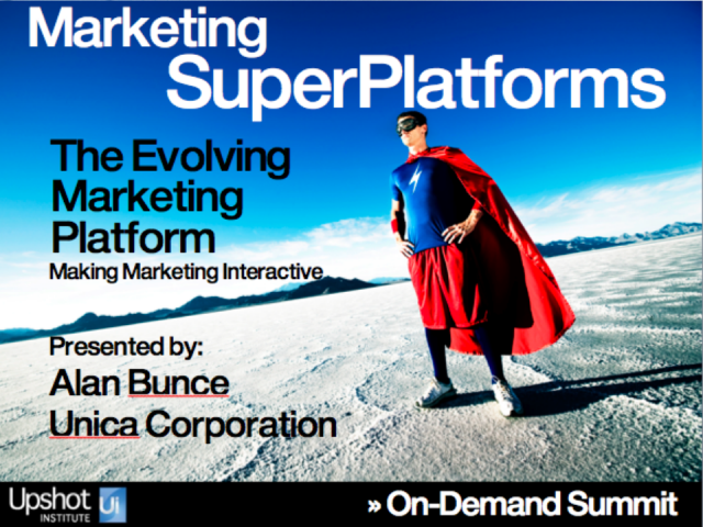 The Evolving Marketing Platform - Making Marketing Interactive