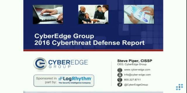 Defending Against Cyberthreats: CyberEdge's 2016 Cyberthreat Defense Report