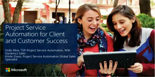 Project Service Automation for Client and Customer Success