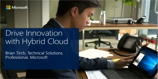 Drive Innovation with Hybrid Cloud