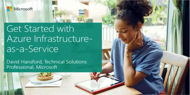 Get started with Azure Infrastructure-as-a-Service
